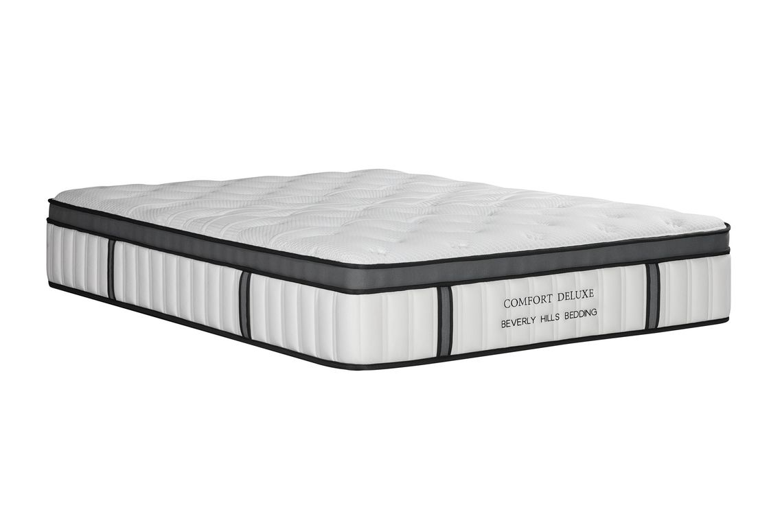 Compressed Micro - Pocket Spring Mattress With Foam Encasement
