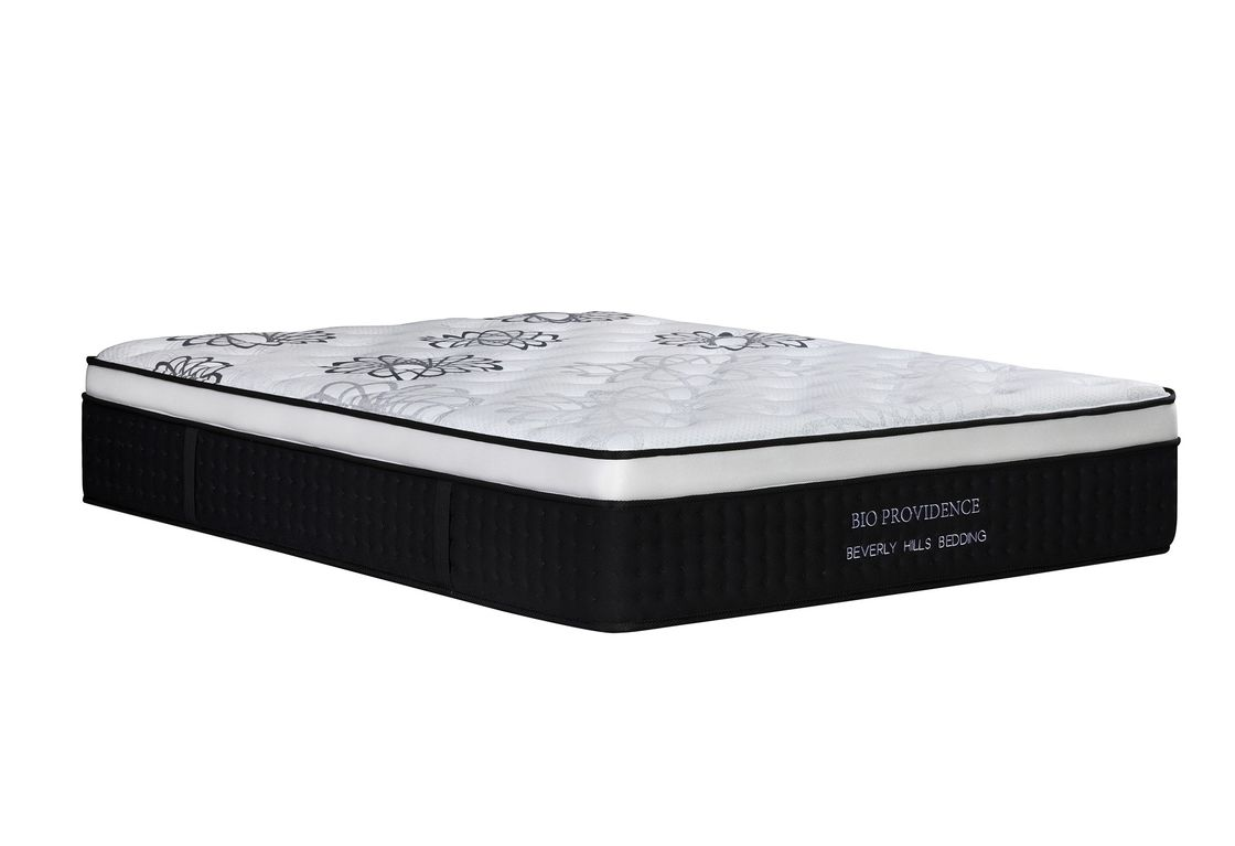 Compressed Latex Memory Foam Mattress With Coil Springs 10 Years Warranty